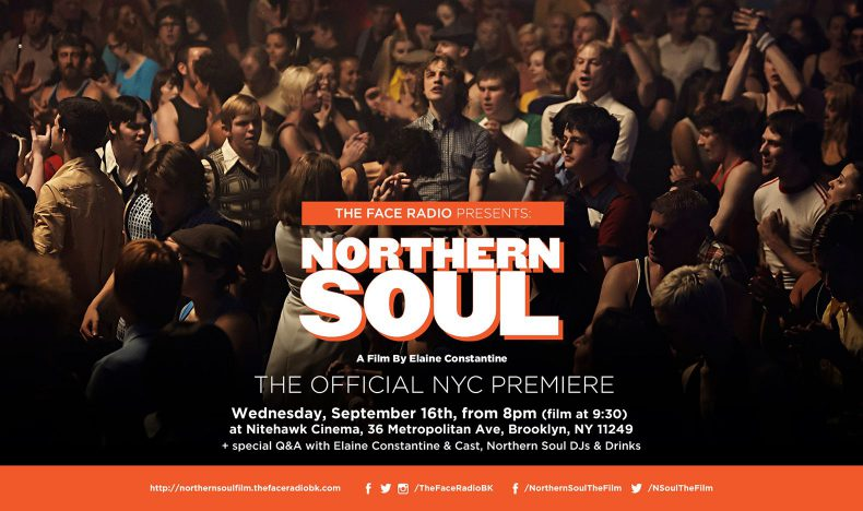 Elaine Constantine's Northern Soul Movie Premiere NYC Promotion Poster