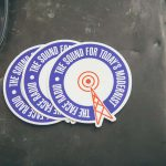 The Face Radio Stickers at the Northern Soul Premiere Event