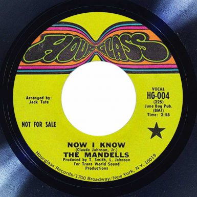 The Mandells Now I know Album cover song of the day the face radio
