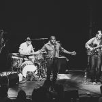 Durand Jones & The Indications play NYC August 2017 photo by Rosie Cohe