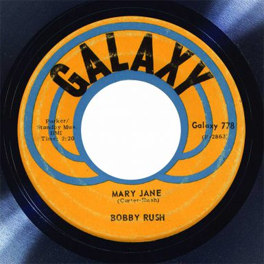 Bobby Rush Mary Jane Disk Label song of the day the face radio