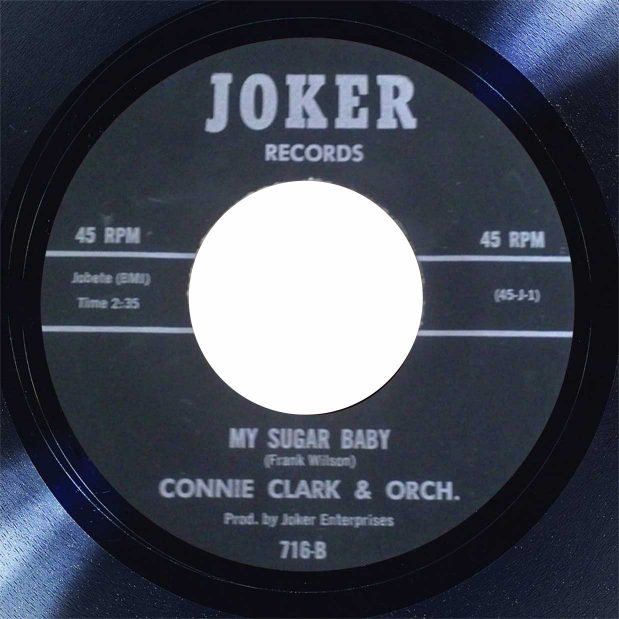 Connie Clark My Sugar Baby Disk Label Song Of The Day The Face Radio