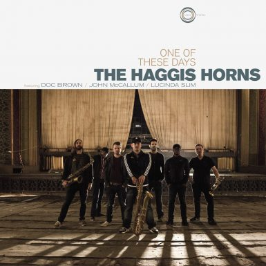 The Haggis Horns One Of These Days Album Cover