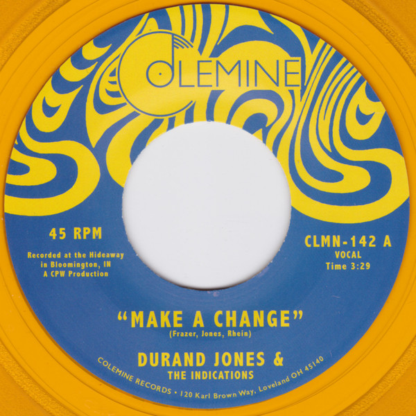 Durand Jones & The Indications - Make A Change Record