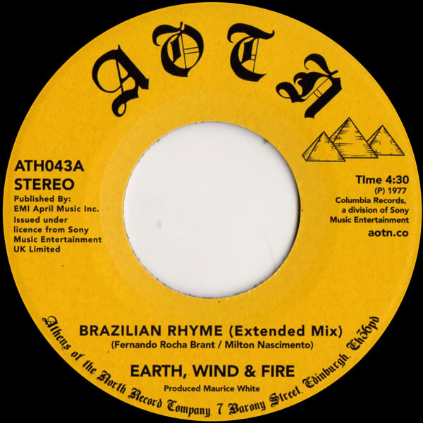 Earth Wind & Fire Brazillian Rhyme Record