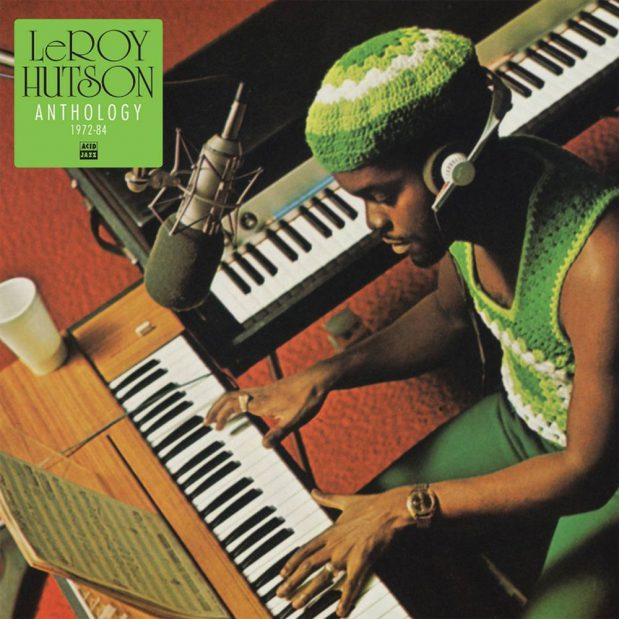 Leroy Hutson - Anthology Cover