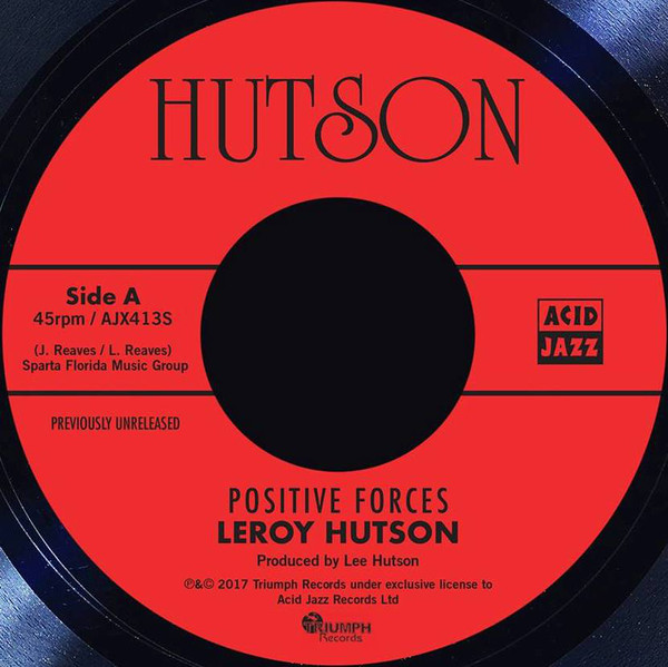 Leroy Hutson - Positive Forces Record