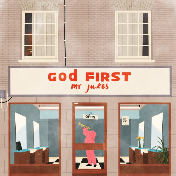 Mr Jukes God First Album Cover