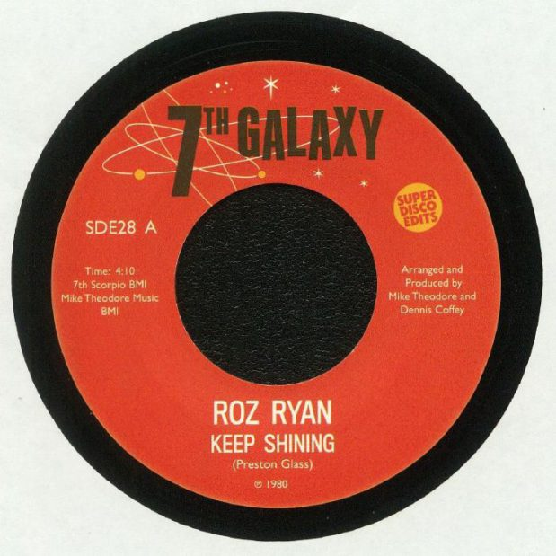 Roz Ryan ‎– Keep Shining Record