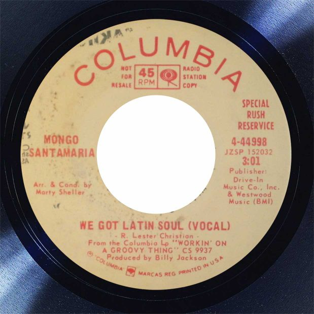 Mongo Santamaria Latin Soul Disk Label Song Of The Day The Face Radio