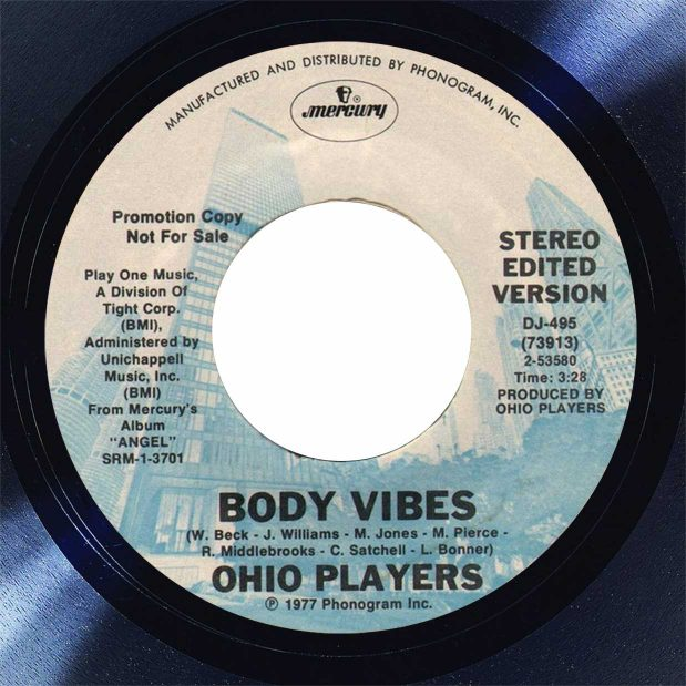 Ohio Players Body Vibes Disk Label Song Of The Day The Face Radio