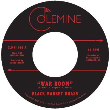 Black Market Brass - War Room Record Cover