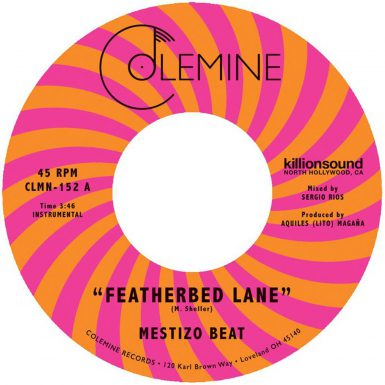 Mestizo Beat Featherbed Lane Record Cover