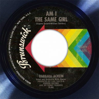 Barbara Ackin Am I The Same Girl Disk Label Song Of The Day The Face Radio