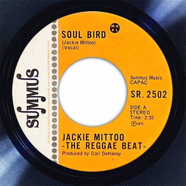 Jackie Mittoo Soul Bird Disk Label Song Of The Day The Face Radio