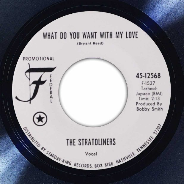 Stratoliners What Do You Want Disk Label Song Of The Day The Face Radio