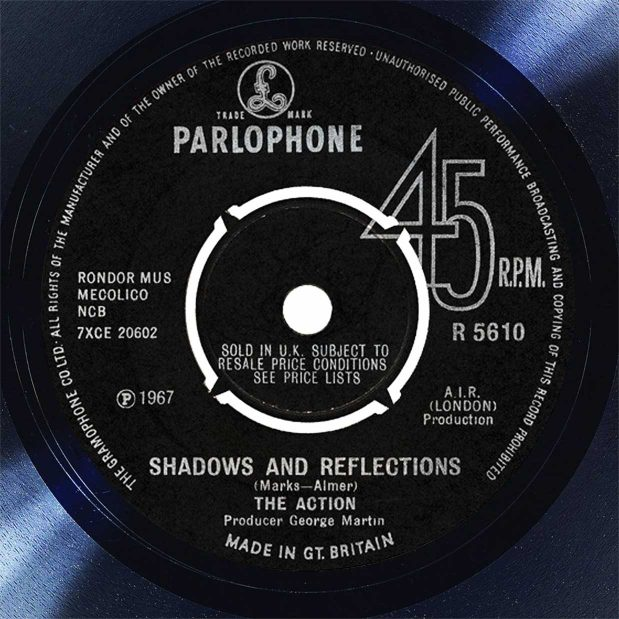 The Action Shadows & Reflections Disk Label Song Of The Day The Face Radio