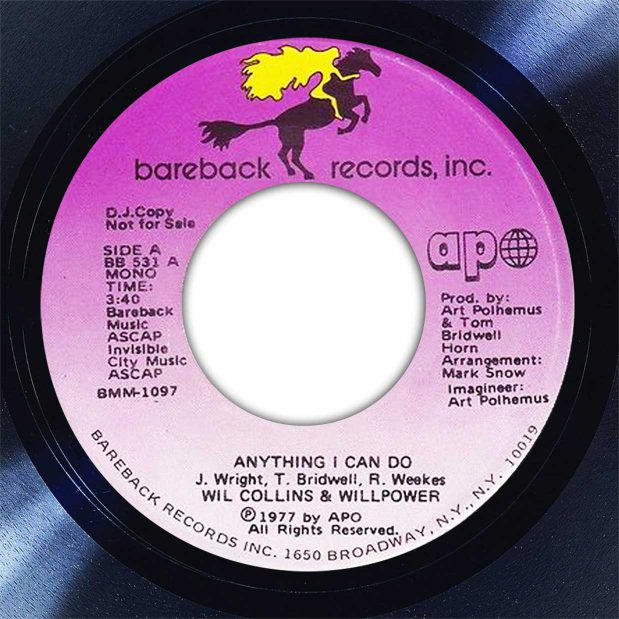 Wil Collins & Willpower Anything I Can Do Disk Label Song Of The Day The Face Radio
