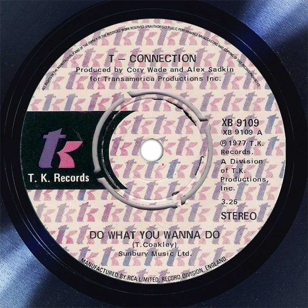 T-Connection Do What You Wanna Do Disk Label Song Of The Day The Face Radio