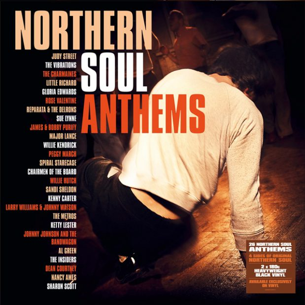 Various Artists Northern Soul Anthems Demon Album Cover