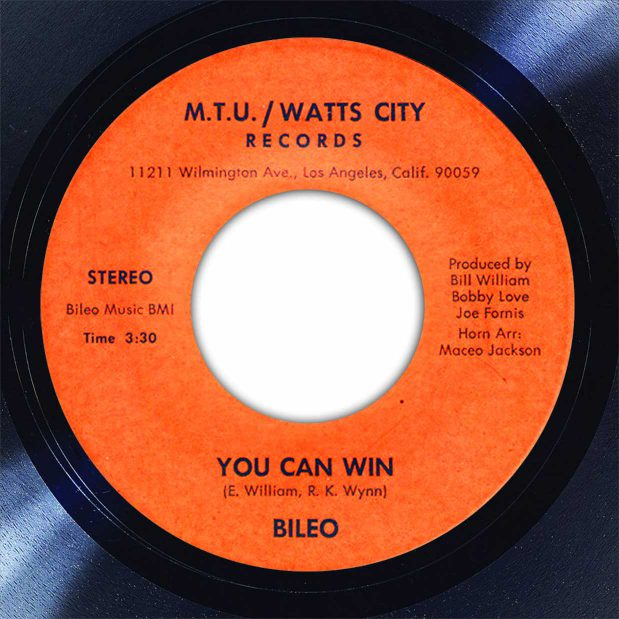 Bileo You Can Win Disk Label Song Of The Day The Face Radio