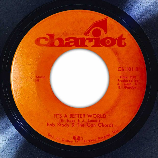 Bob Brady & The Conchords Its A Better World Disk Label Song Of The Day The Face Radio