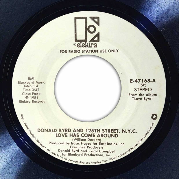 Donald Byrd Love Had Come Around Disk Label Song Of The Day The Face Radio