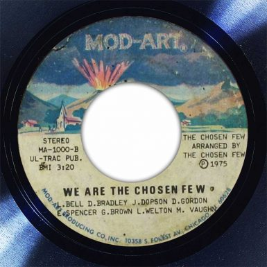 We Are The Chosen Few Disk Label Song Of The Day The Face Radio