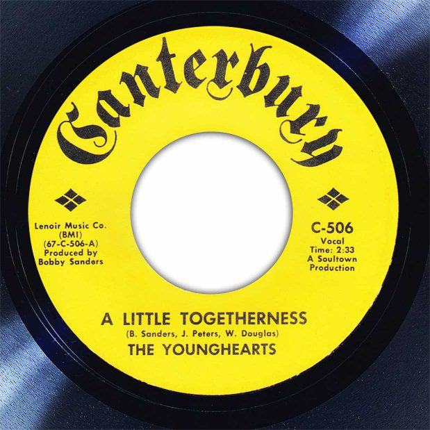 The Younghearts A Little Togetherness Disk Label Song Of The Day The Face Radio