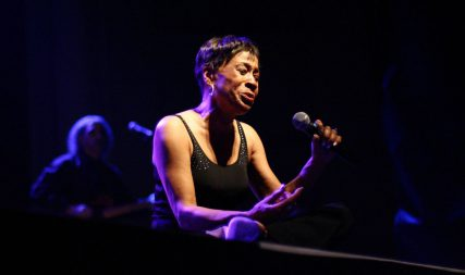 Betty LaVette sings on stage
