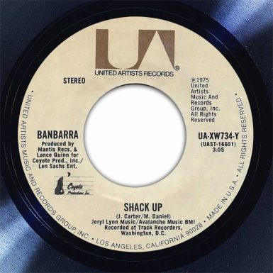 Barbarra Shack Up Disk Label Song Of The Day The Face Radio