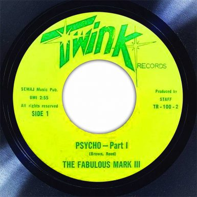 Fabulous Mark III Psycho Disk Label Song Of The Day The Face Radio