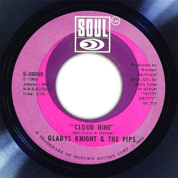 Gladys Knight & The Pips Cloud Nine Disk Label Song Of The Day The Face Radio