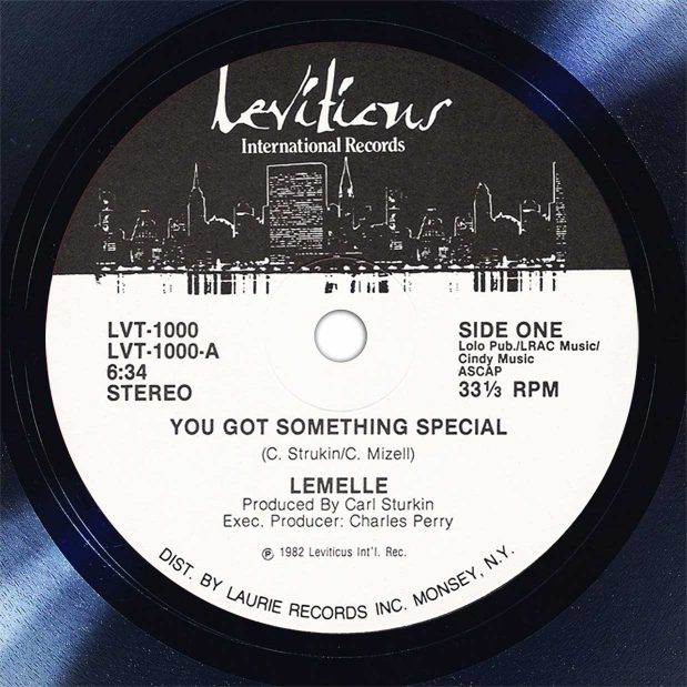 Lemelle You Got Something Special Disk Label Song Of The Day The Face Radio