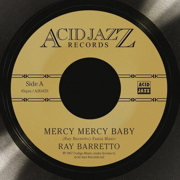 Ray Barretto Mercy Mercy Baby Album