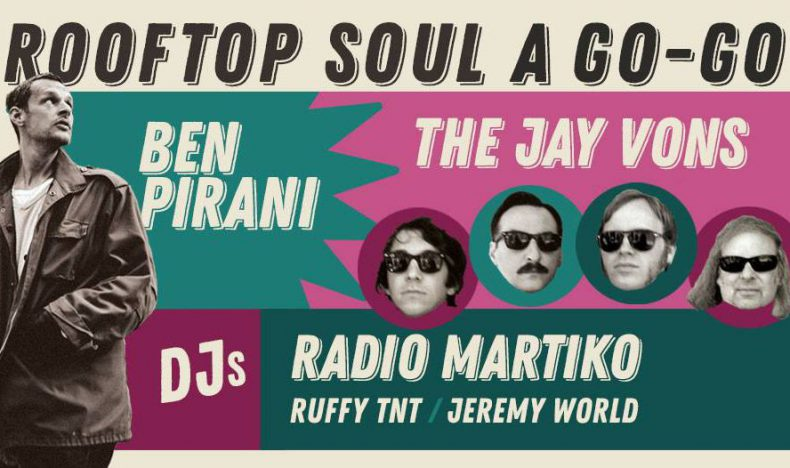 Rooftop Soul Sunday Event Flyer Our Wicked Lady
