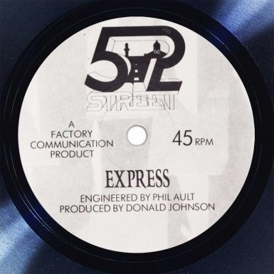 52nd Street Express Disk Label Song Of The Day The Face Radio