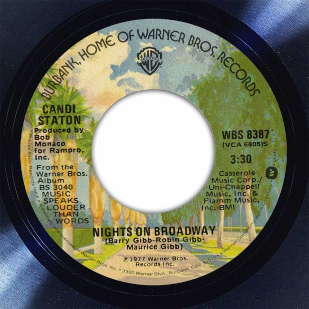Candi Staton Nights On Broadway Disk Label Song Of The Day The Face Radio