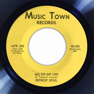 Detroit Souk All Of My Life Disk Label Song Of The Day The Face Radio