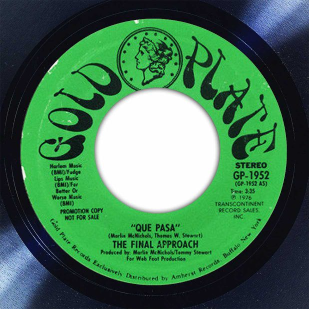 The Final Approach Que Pasa Disk Label Song Of The Day The Face Radio
