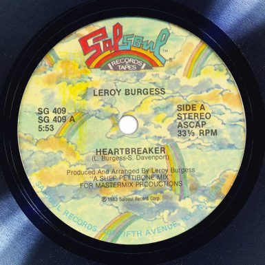 Leroy Burgess Heartbreaker Disk Label Song Of The Day The Face Radio