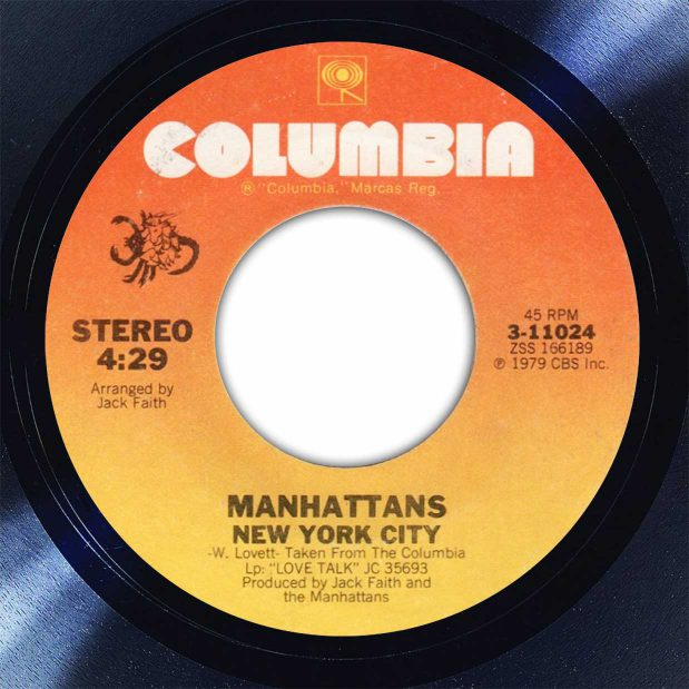 Manhattans New York City Disk Label Song Of The Day The Face Radio