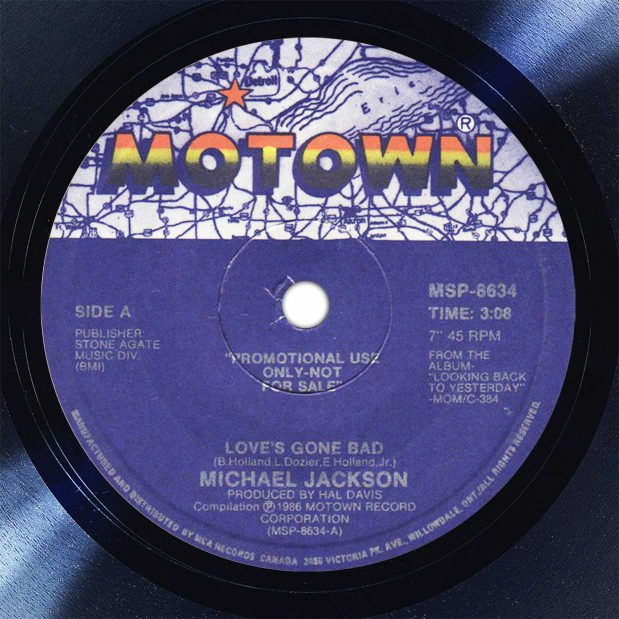 Michael Jackson Love's Gone Bad New York City Disk Label Song Of The Day The Face Radio
