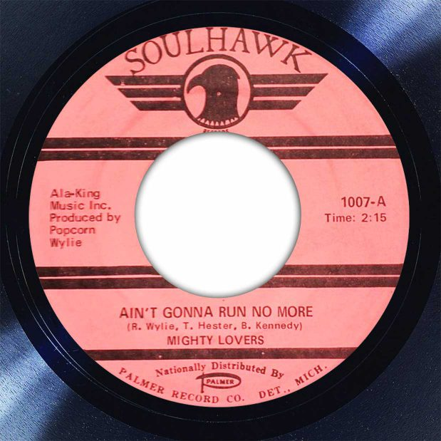 Mighty Lovers Ain't Gonna Run No More Disk Label Song Of The Day The Face Radio