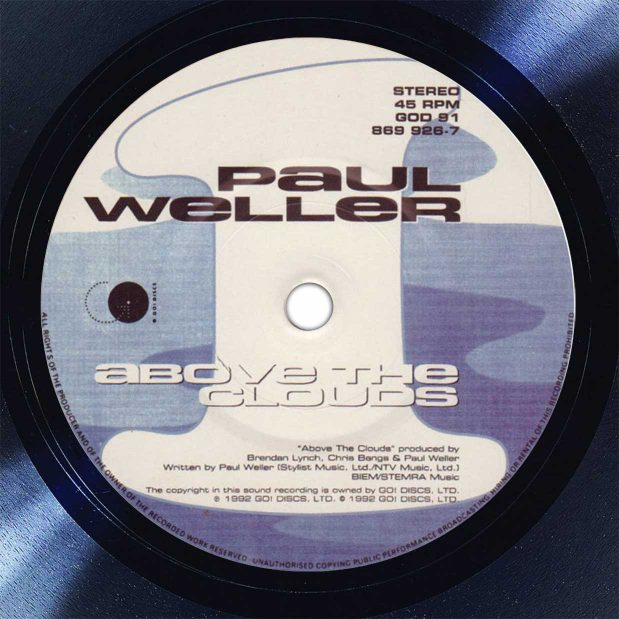 Paul Weller Above The Clouds Disk Label Song Of The Day The Face Radio