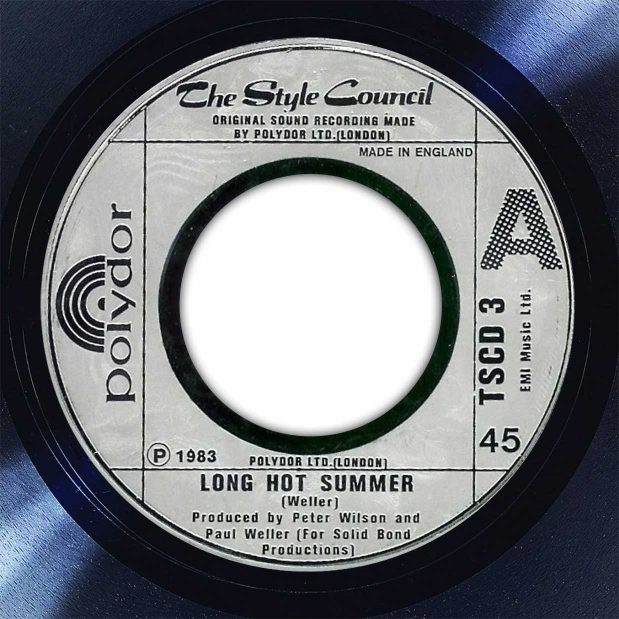 The Style Council Long Hot Summer Disk Label Song Of The Day The Face Radio