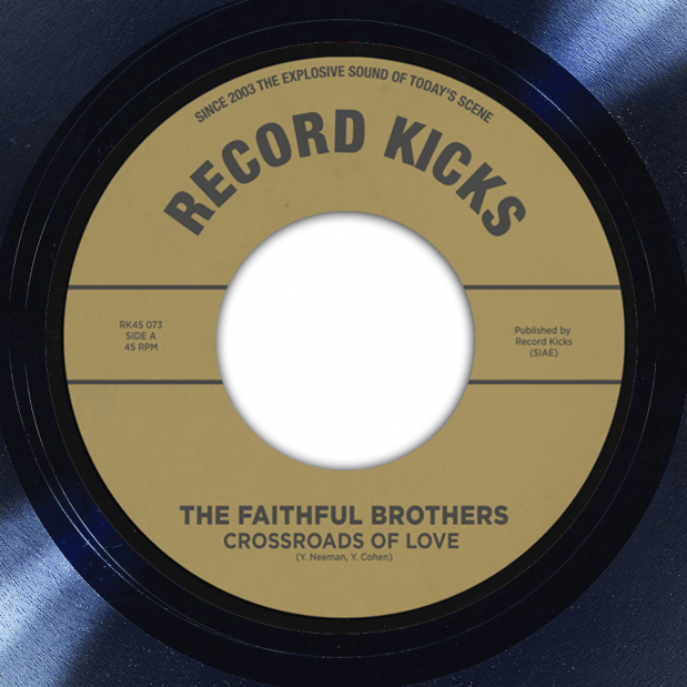 The Faithful Brothers Crossroads of Love album label
