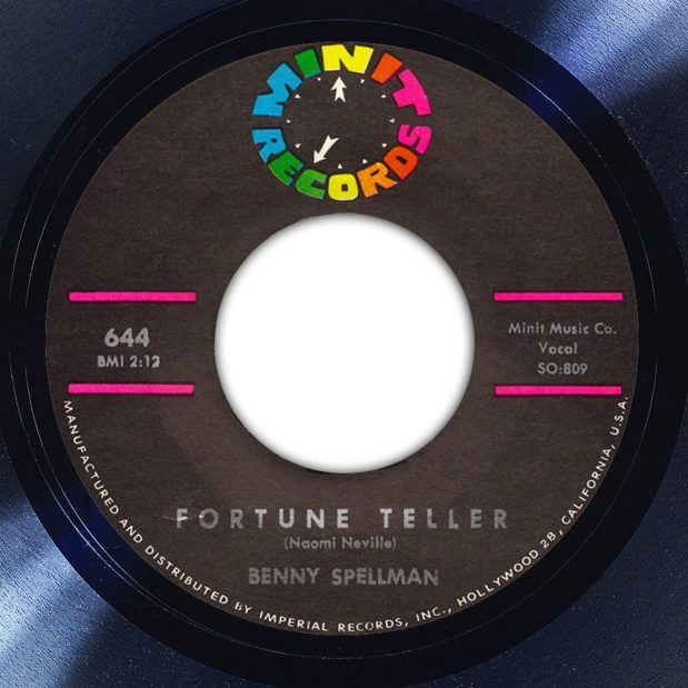 Benny Spellman Fortune Teller Label Song Of The Day The Face Radio