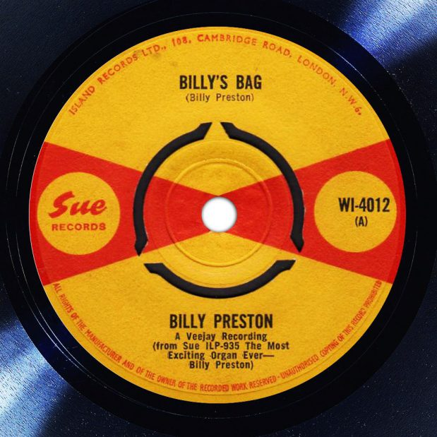 Billy Preston Billys Bag Disk Label Song Of The Day The Face Radio