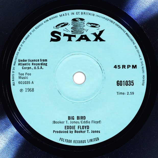 Eddie Floyd Big Bird Disk Label Song Of The Day The Face Radio